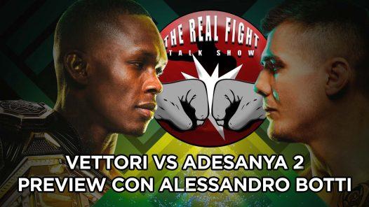 UFC 263 Vettori vs Adesanya: Preview con Alessandro Botti